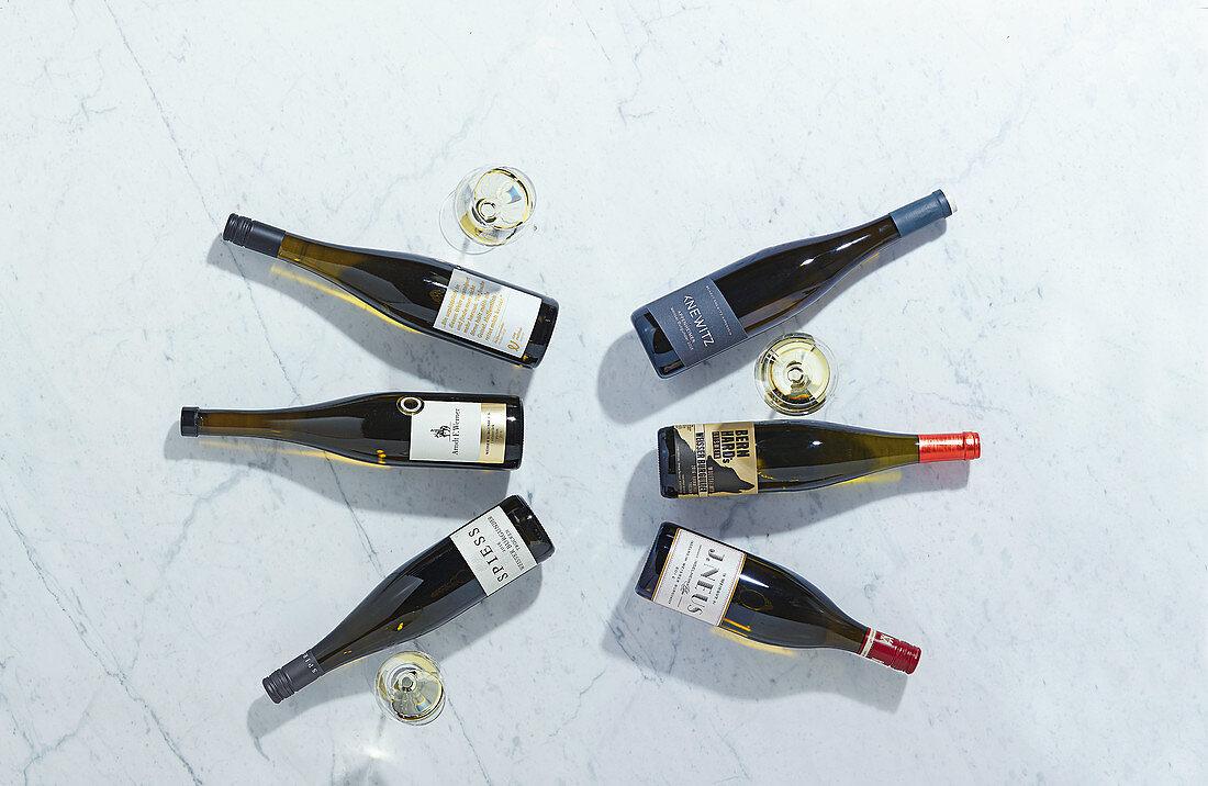 Weissburgunder wine from various vineyards in Rhinehessen