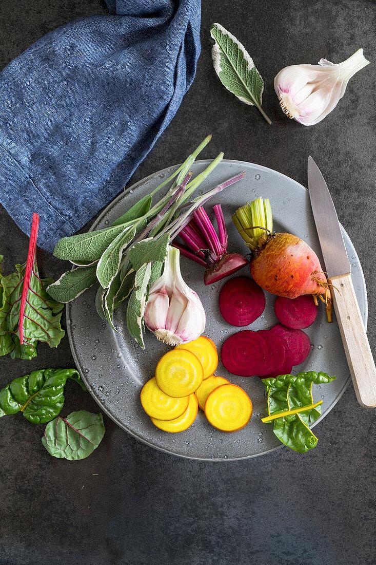 Colors beets