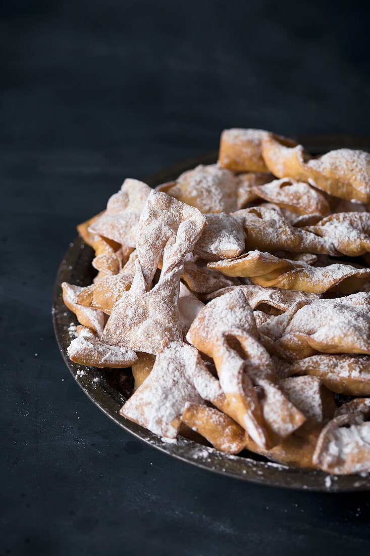 Faworki (traditional pastries from Poland)
