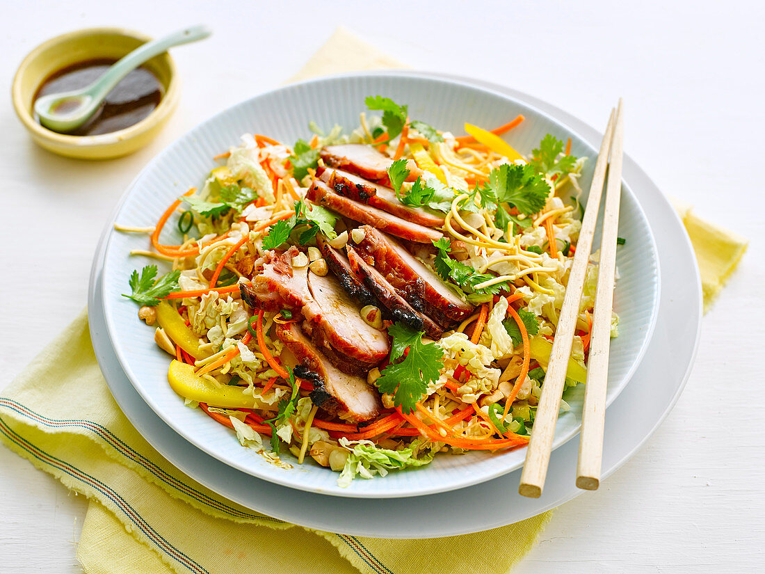 Chinese Pork and Noodle Salad