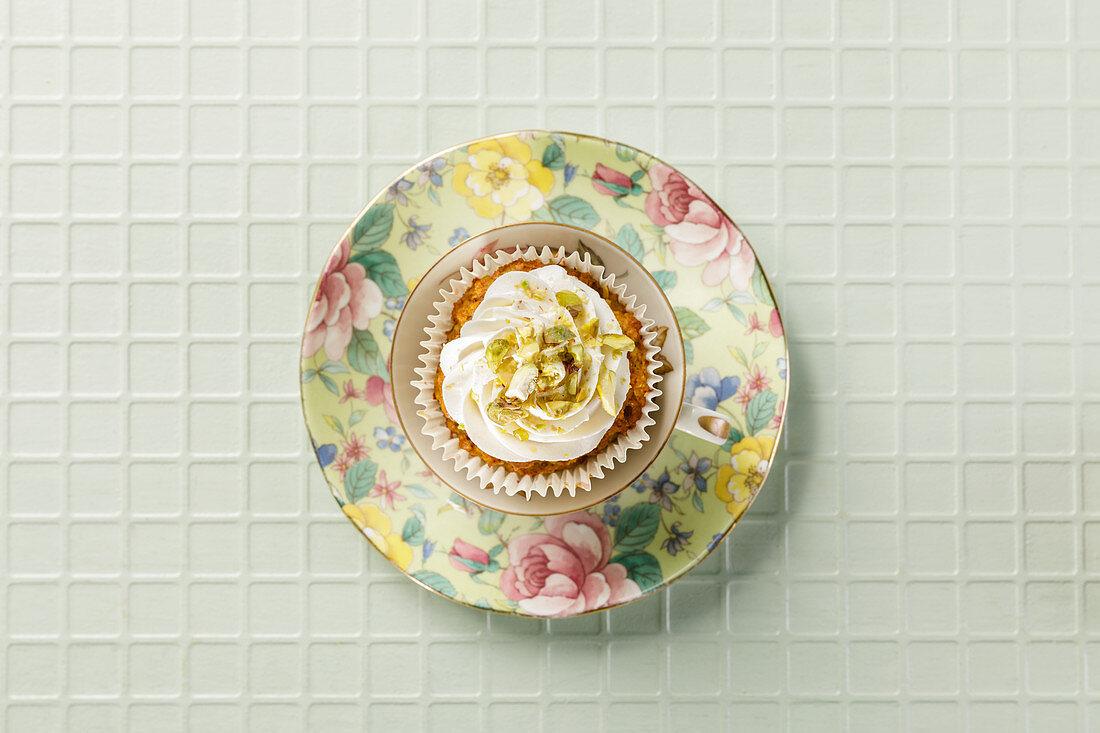 Möhren-Nuss-Cupcakes (Low Carb)