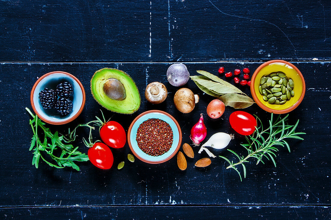 Organic food for clean eating