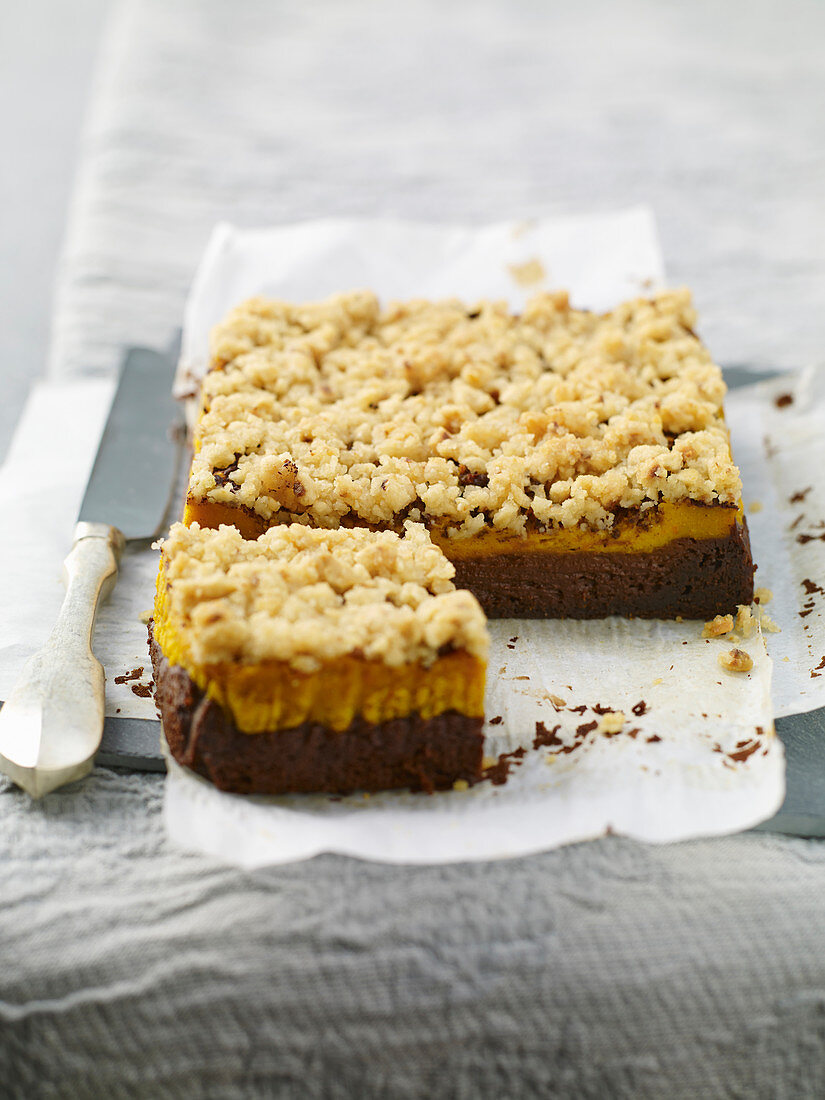 Pumpkin and Cocoa Brownies