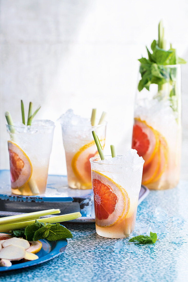 Grapefruit and ginger Virgin Zingers