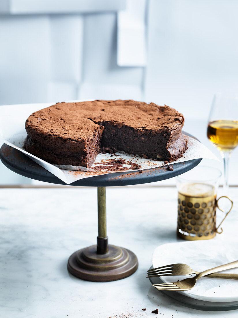 Hazelnut and buttermilk cake