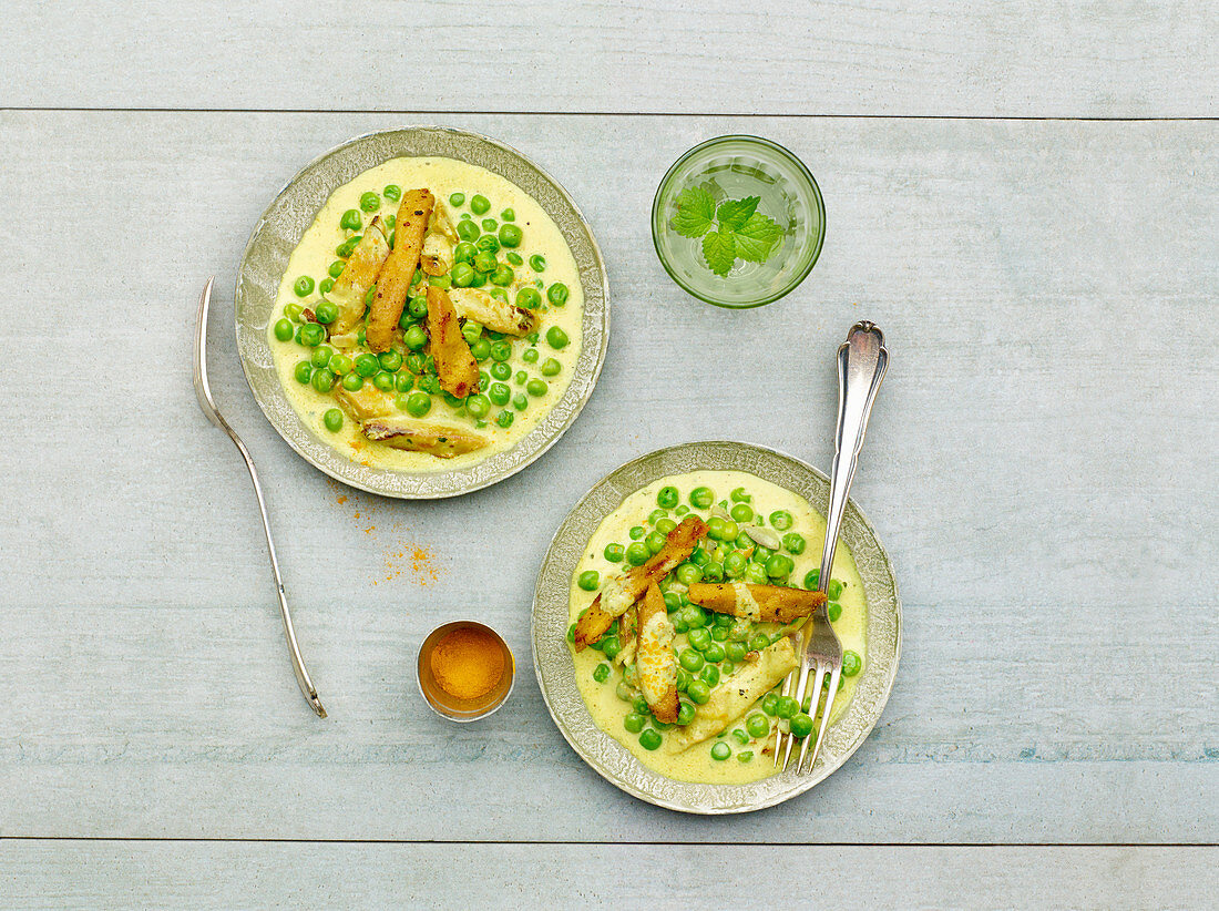 Lupines with peas (low carb)