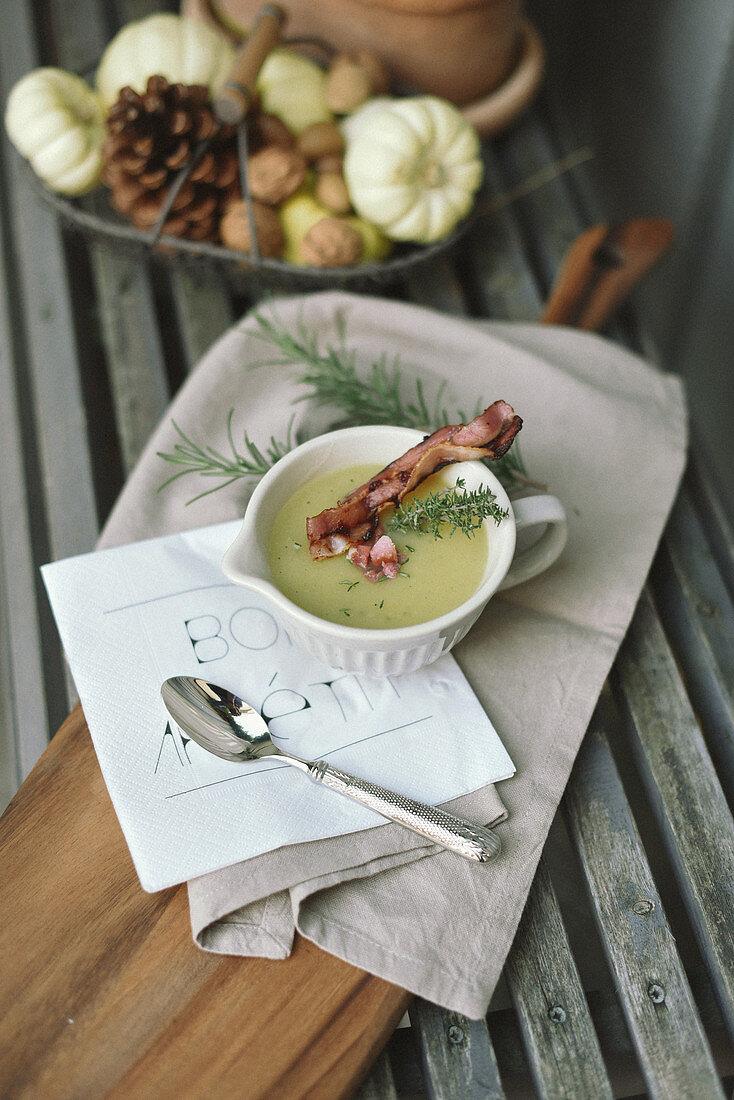Autumn potato soup