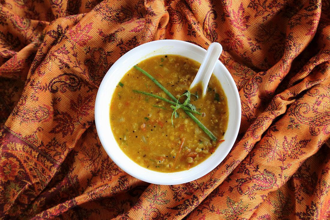 Massur Dal (red lentil stew, India)
