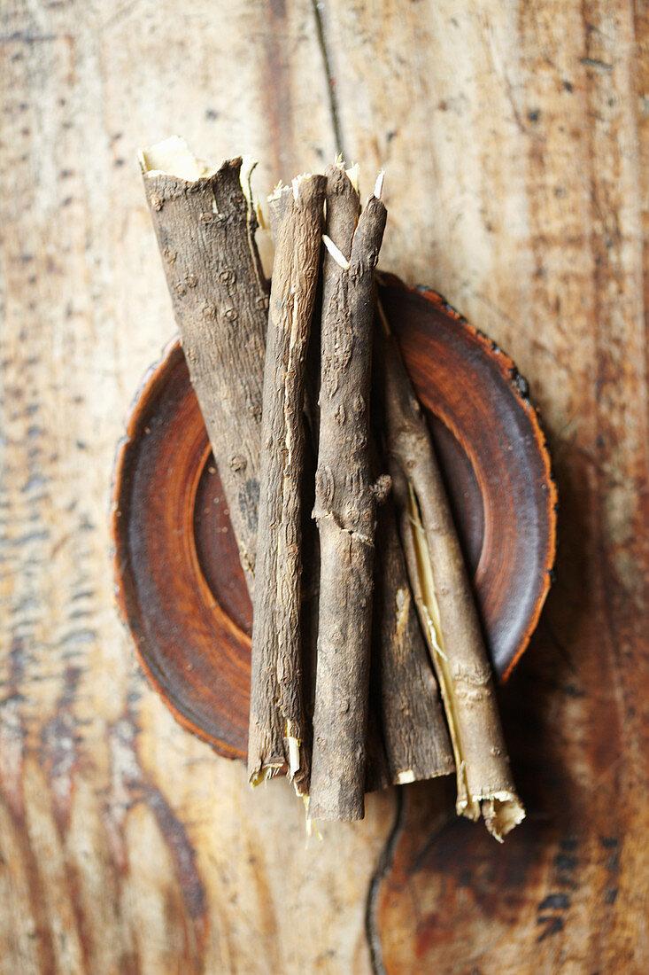 Acanthopanax sessiliflorum Seeman (medicinal roots from Korea)