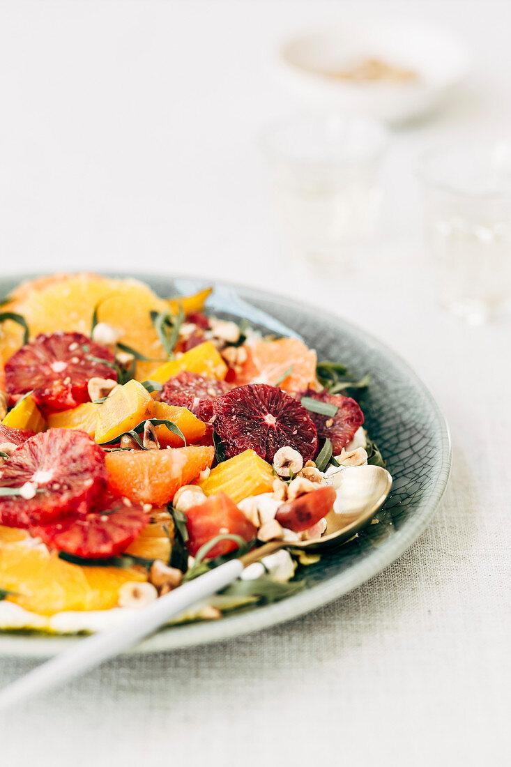 A Healthy Citrus Beet Salad
