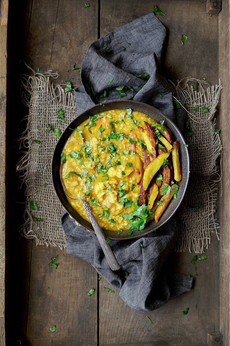Rice and Lentil - One pot meal - Khichdi