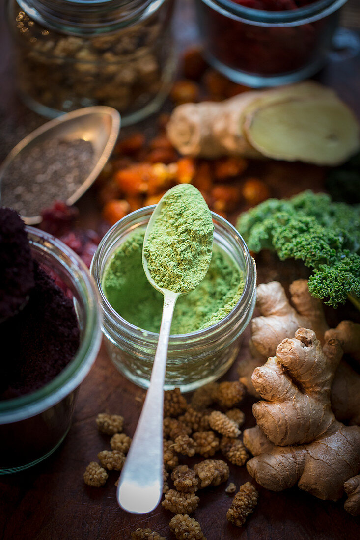 Superfoods for smoothies