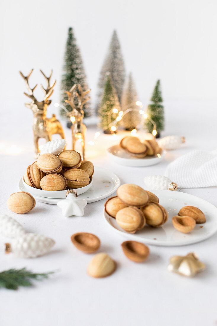 Oreschki (Russian Christmas biscuits)