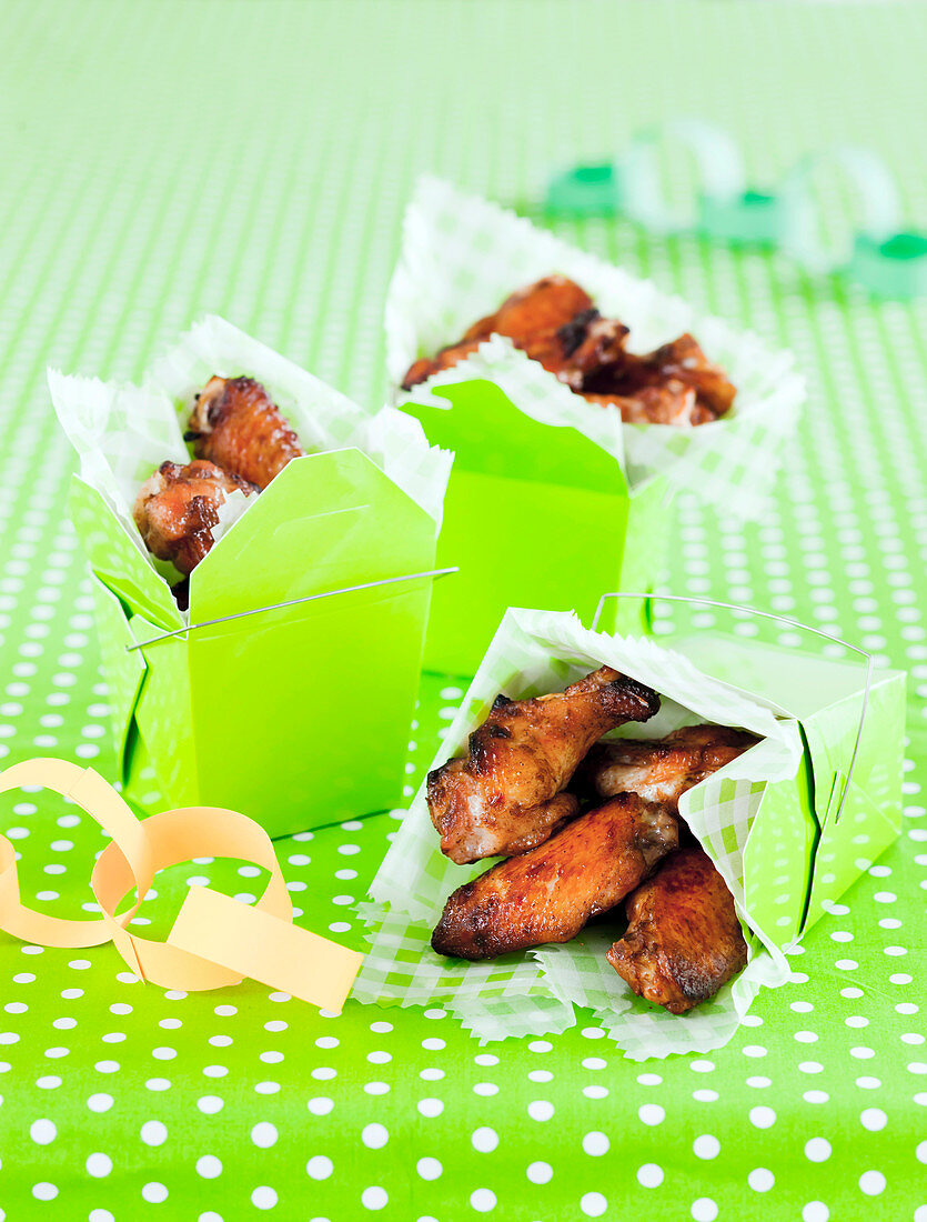 Chinese Barbecued Chicken Wings