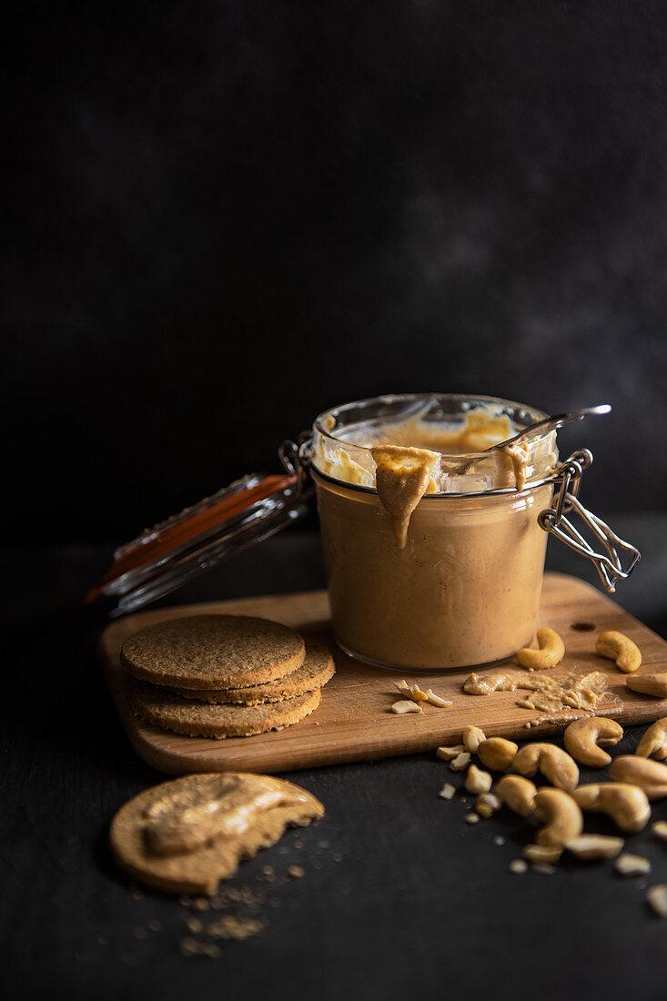 Home made cashew nut butter (vegan)