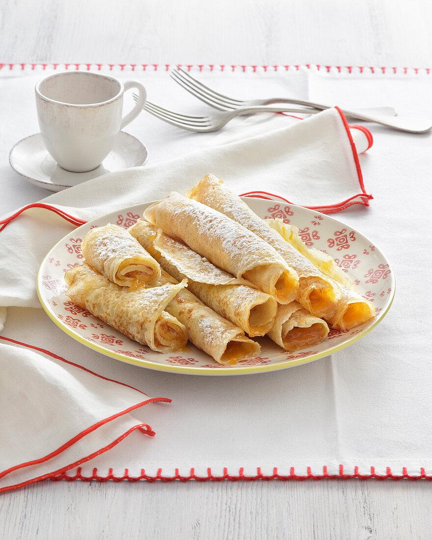 Palatschinken Crepes (Hungary)