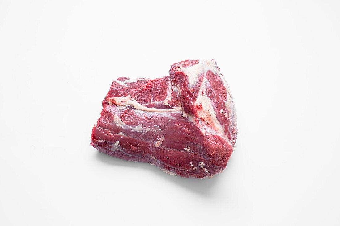 Leftover shoulder cut of beef