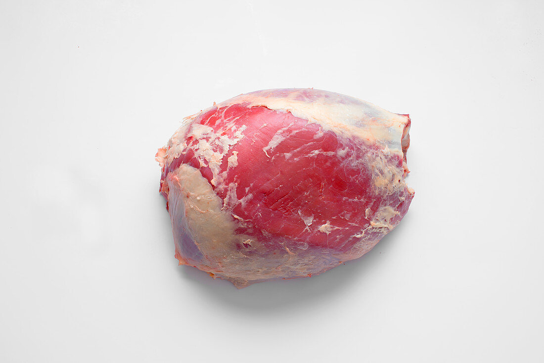 Trimmed thick flank of beef