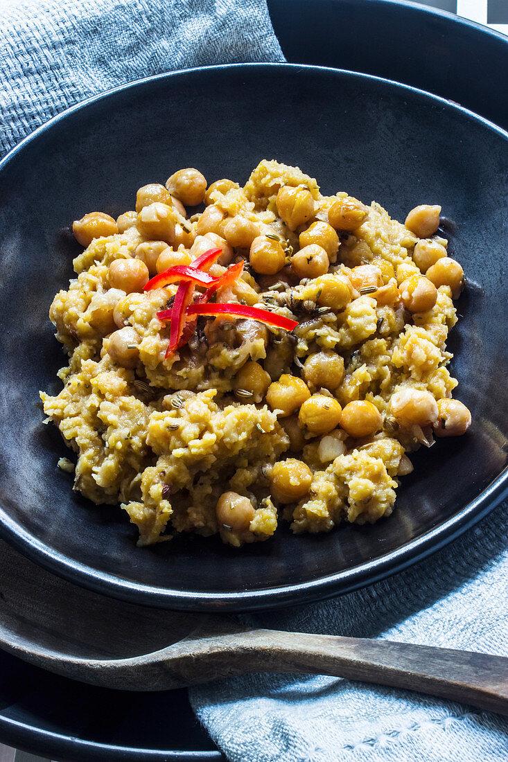 Hummus balila (Lebanon)