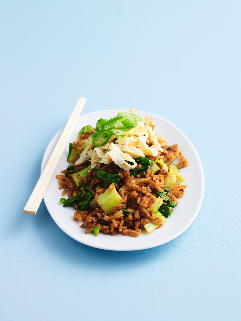 Stir-Fried Rice with Chilli Paste