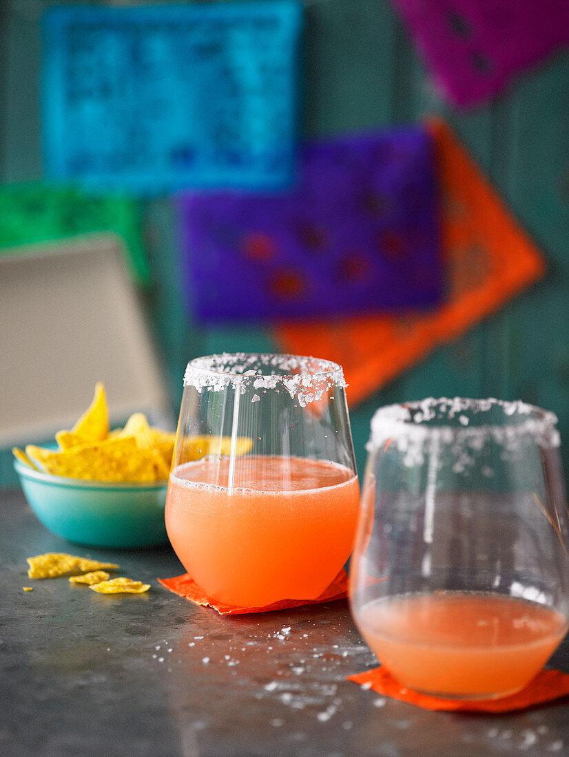 Mexican Blood Orange Margarita