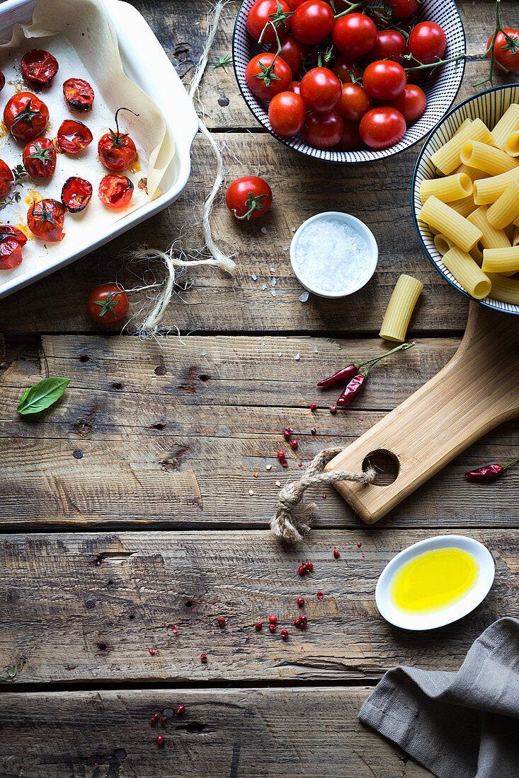 Ingredient for pasta recipe