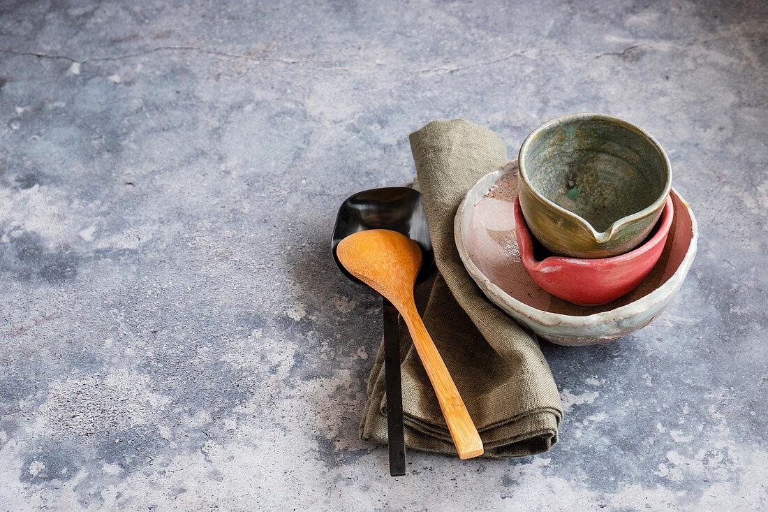 Pottery life still