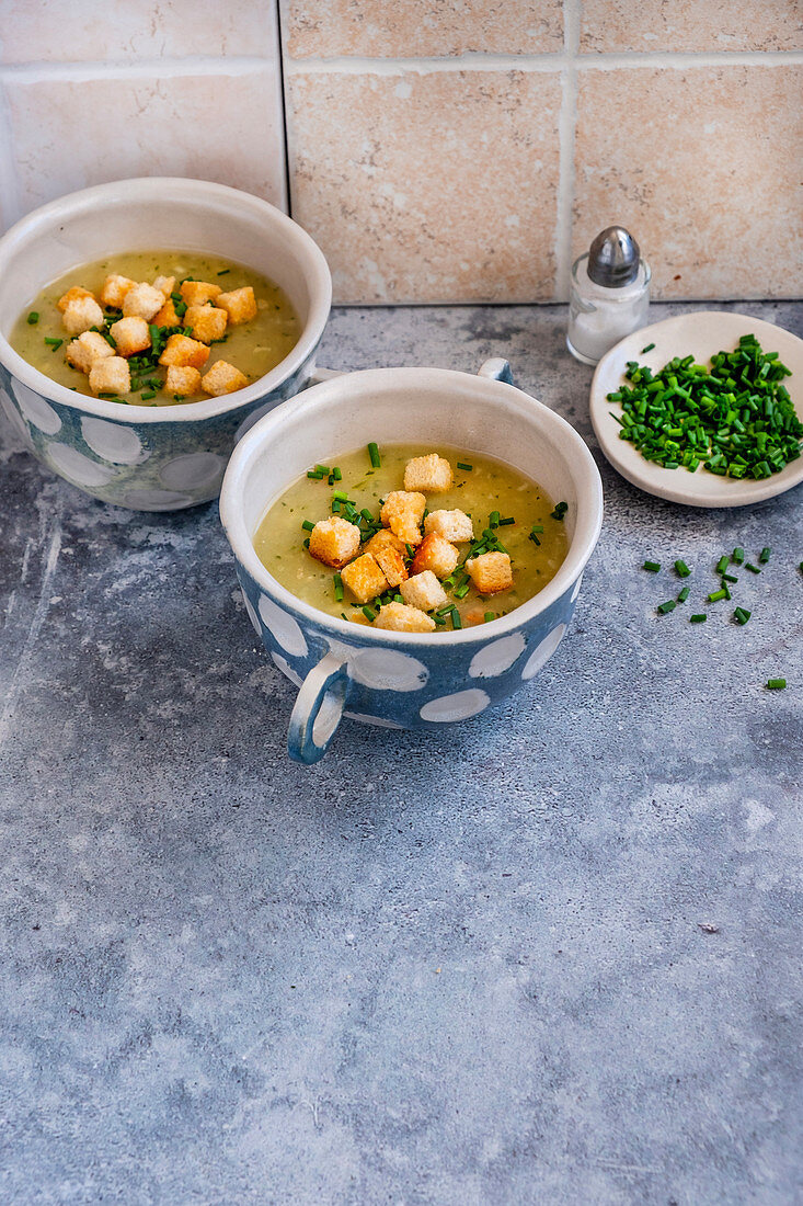 Vegetables cream soup