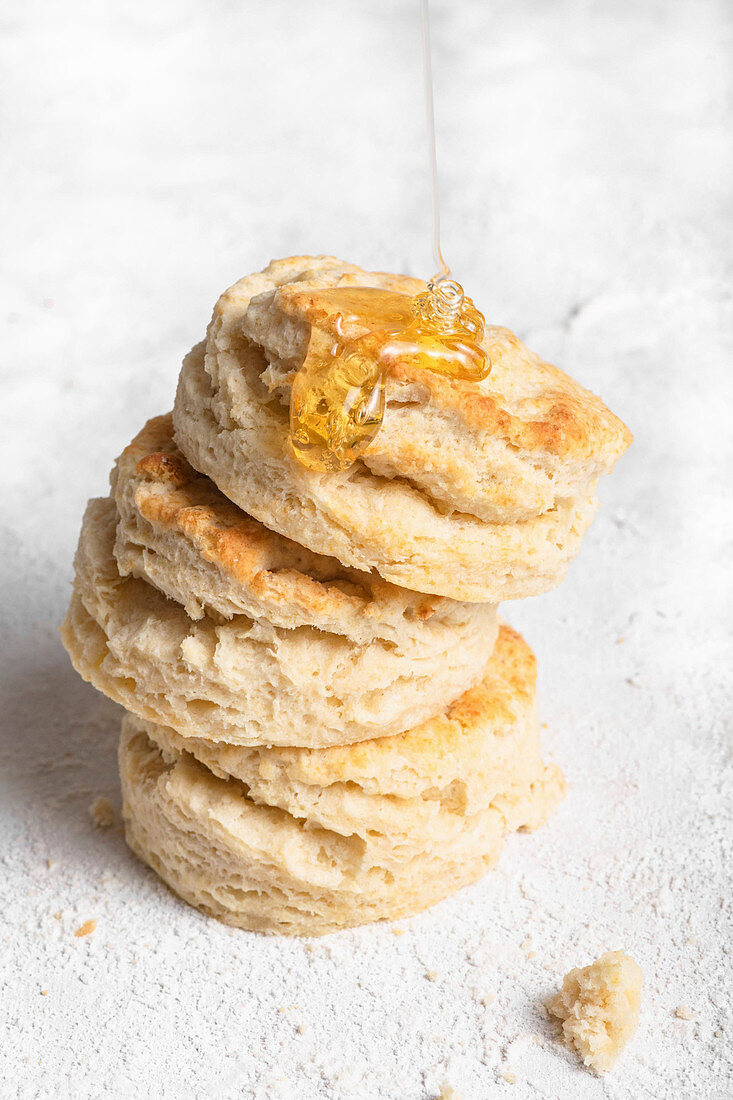 Buttermilk Biscuits and Honey