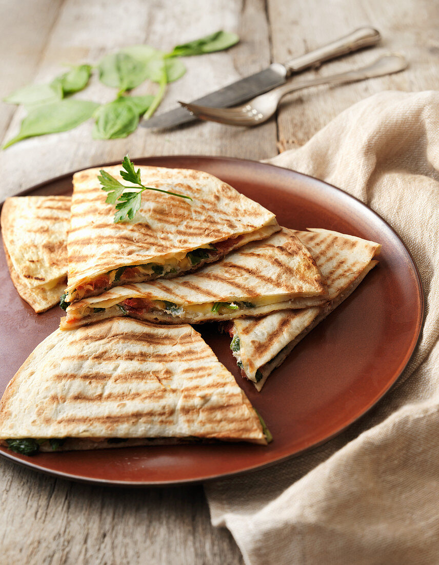 Quesadilla wraps