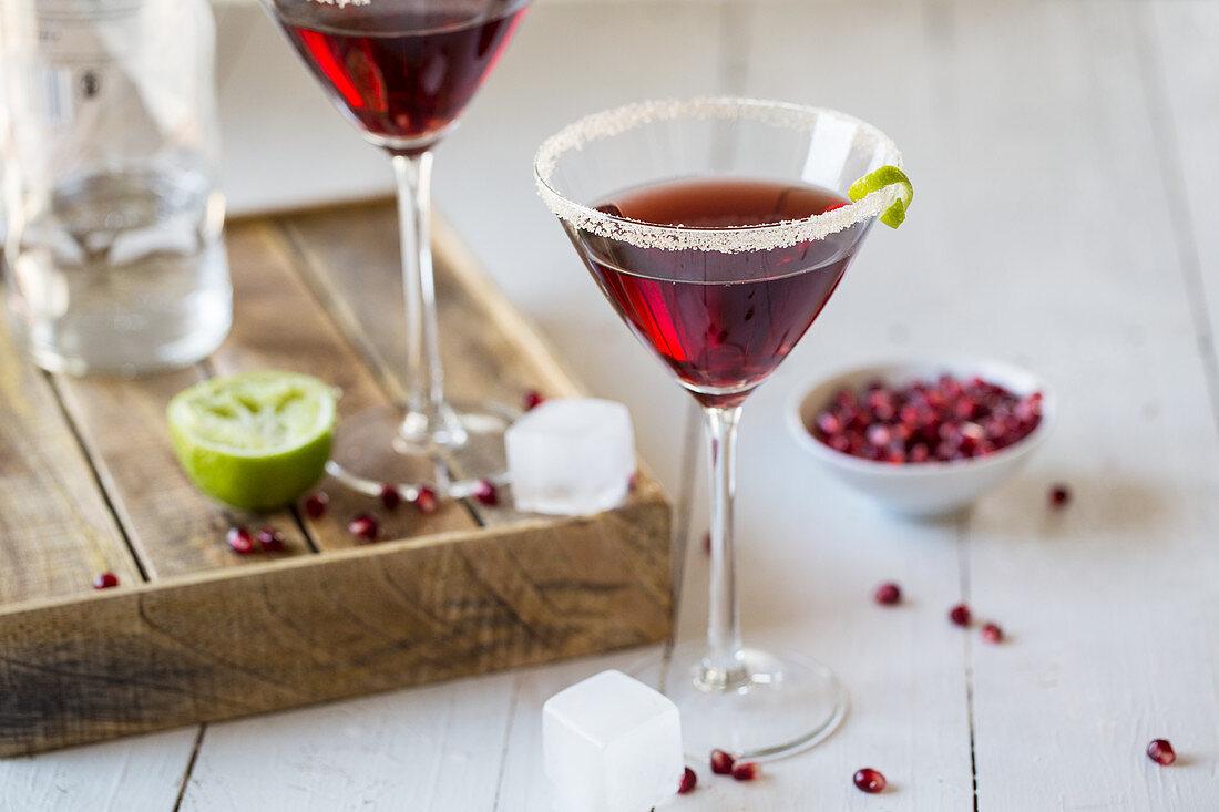 Red martinis