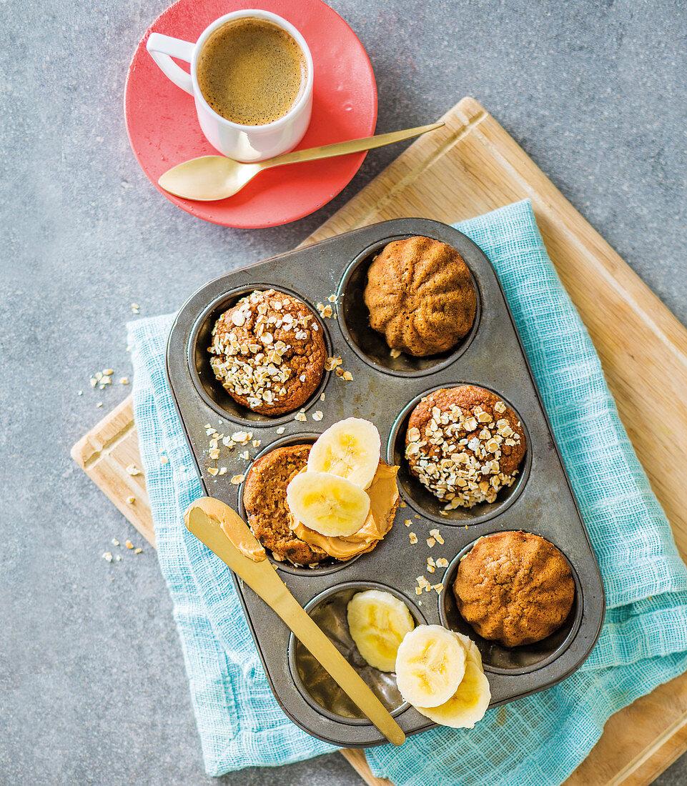 Apple crumble blender muffins
