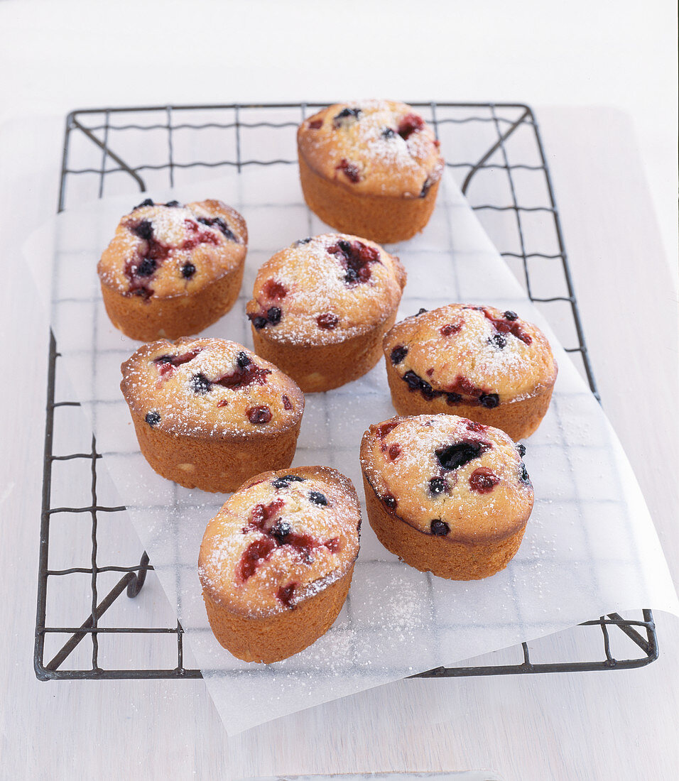 Berry friands