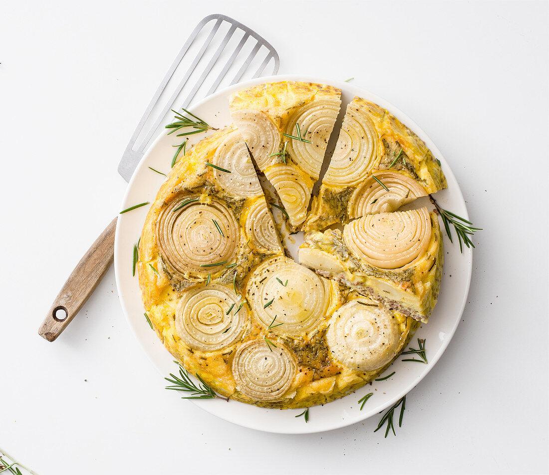 Onion tortilla