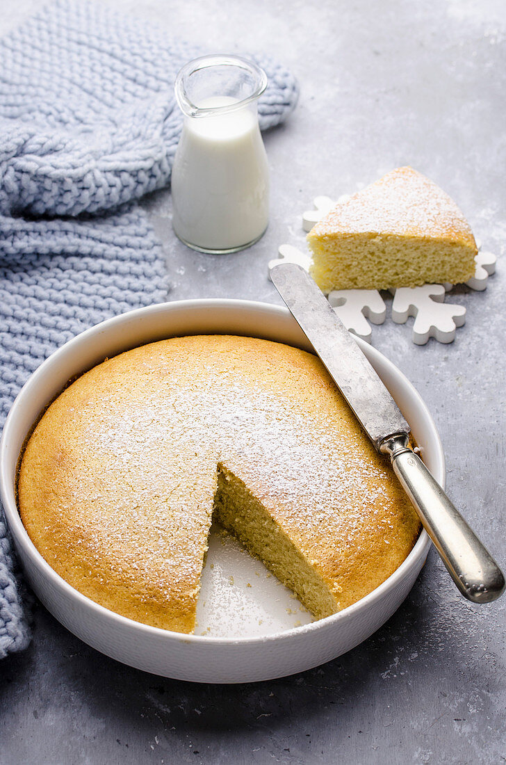 Hot milk cake (USA)