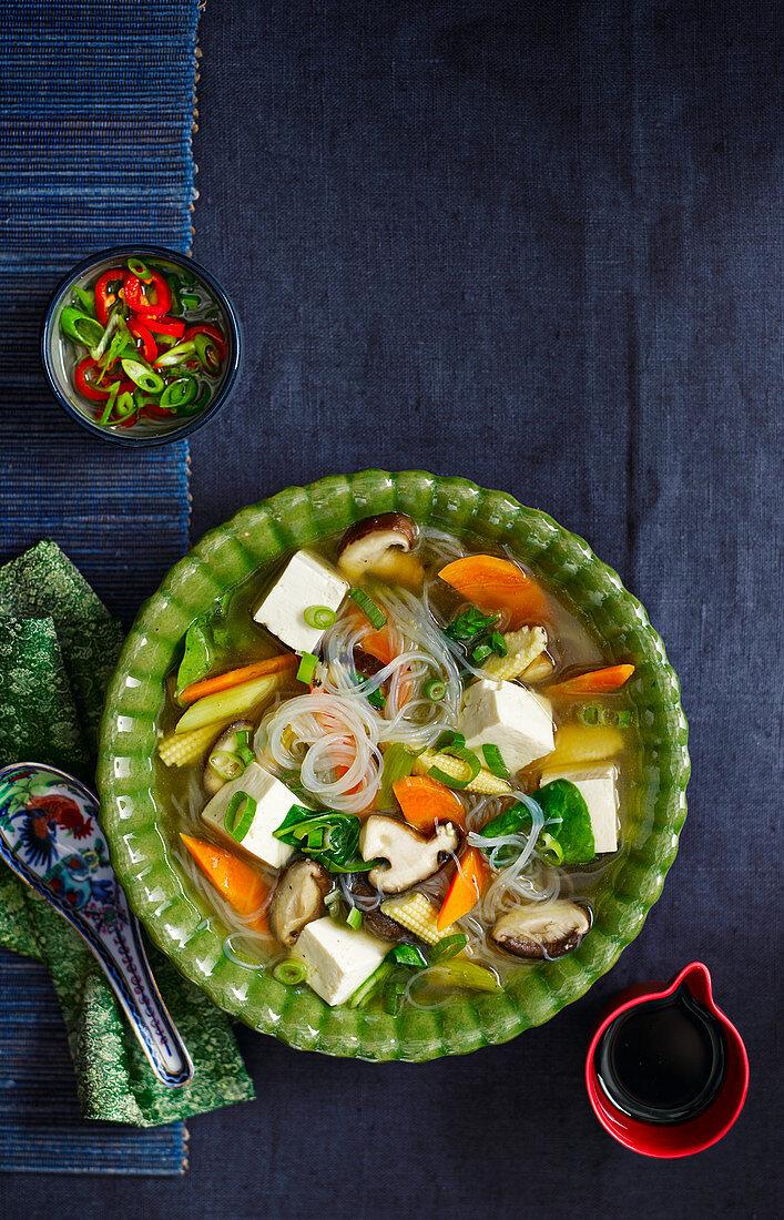 Chinese ten treasure soup