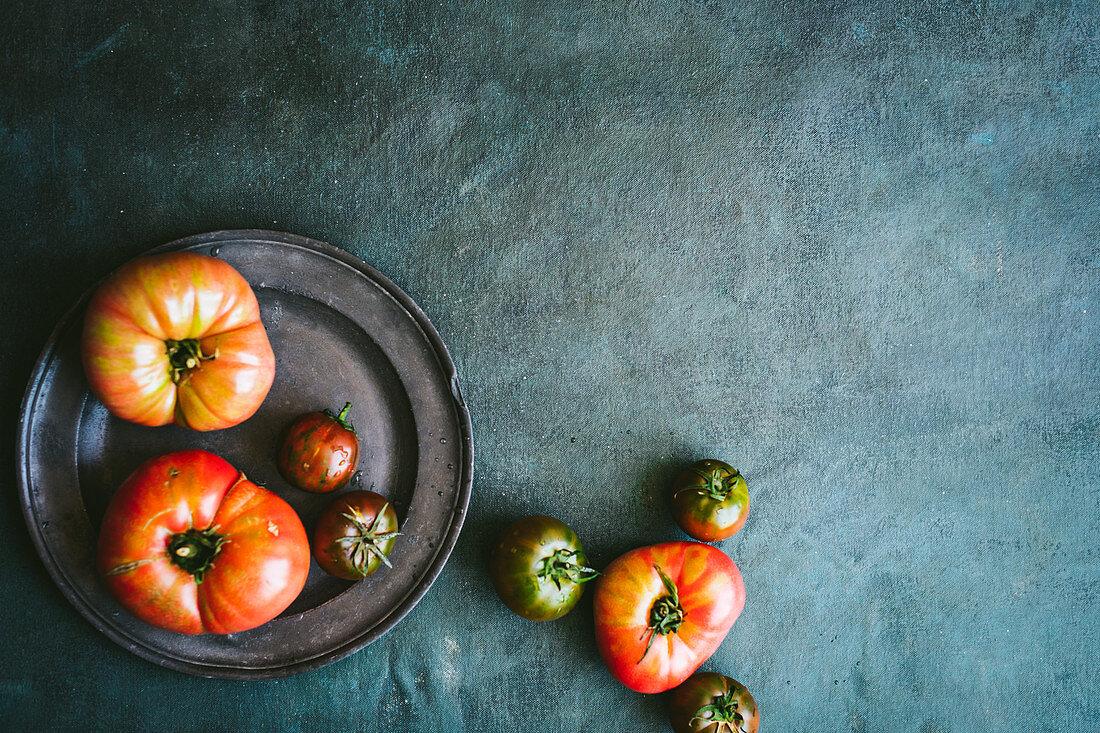 Bulgarian Pink Tomatoes