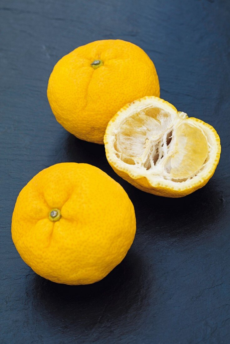 Yuzu (a citrus fruit from Japan)