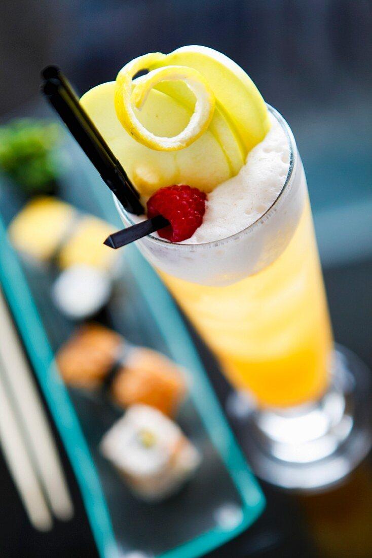 Oriental blossom cocktail