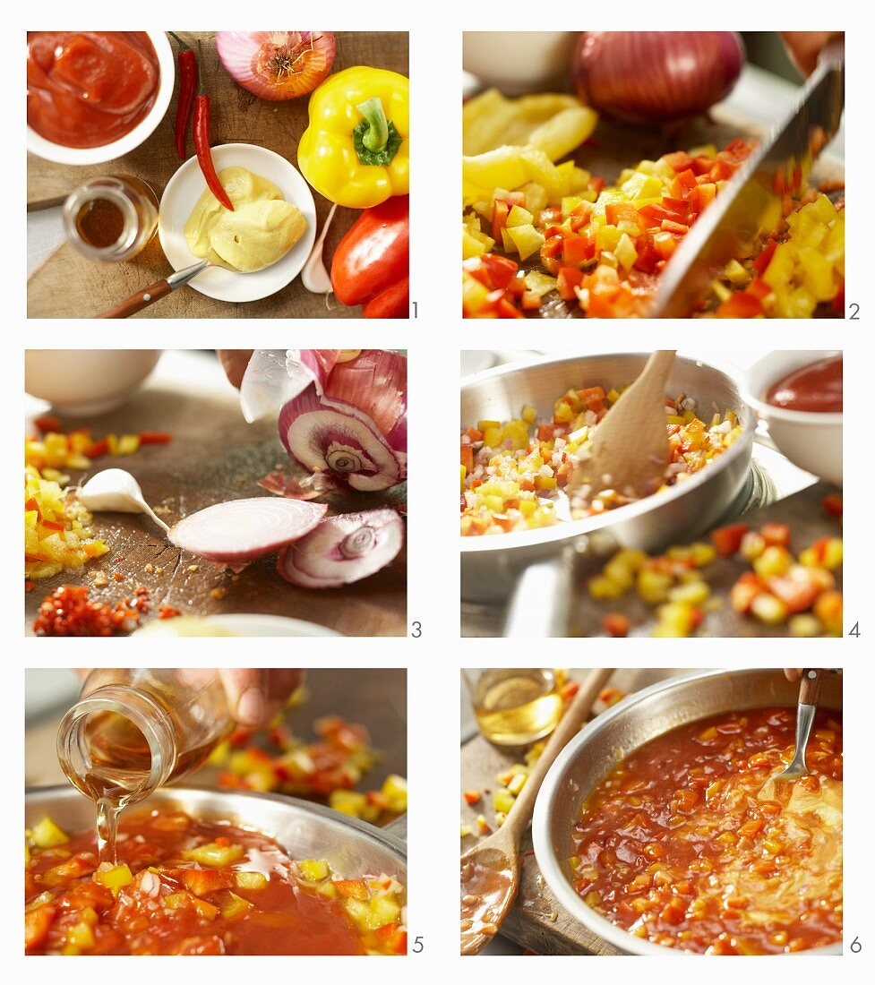 How to make hot gypsy sauce