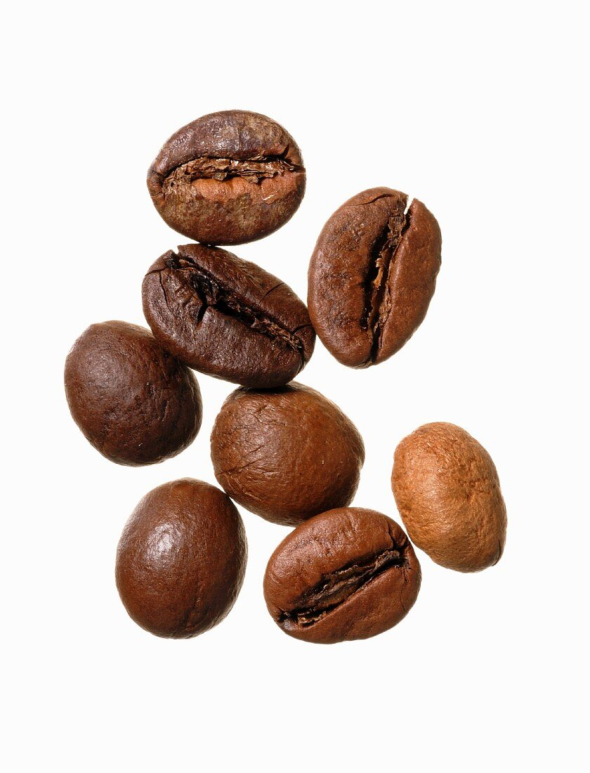 Roasted India Cherry coffee beans