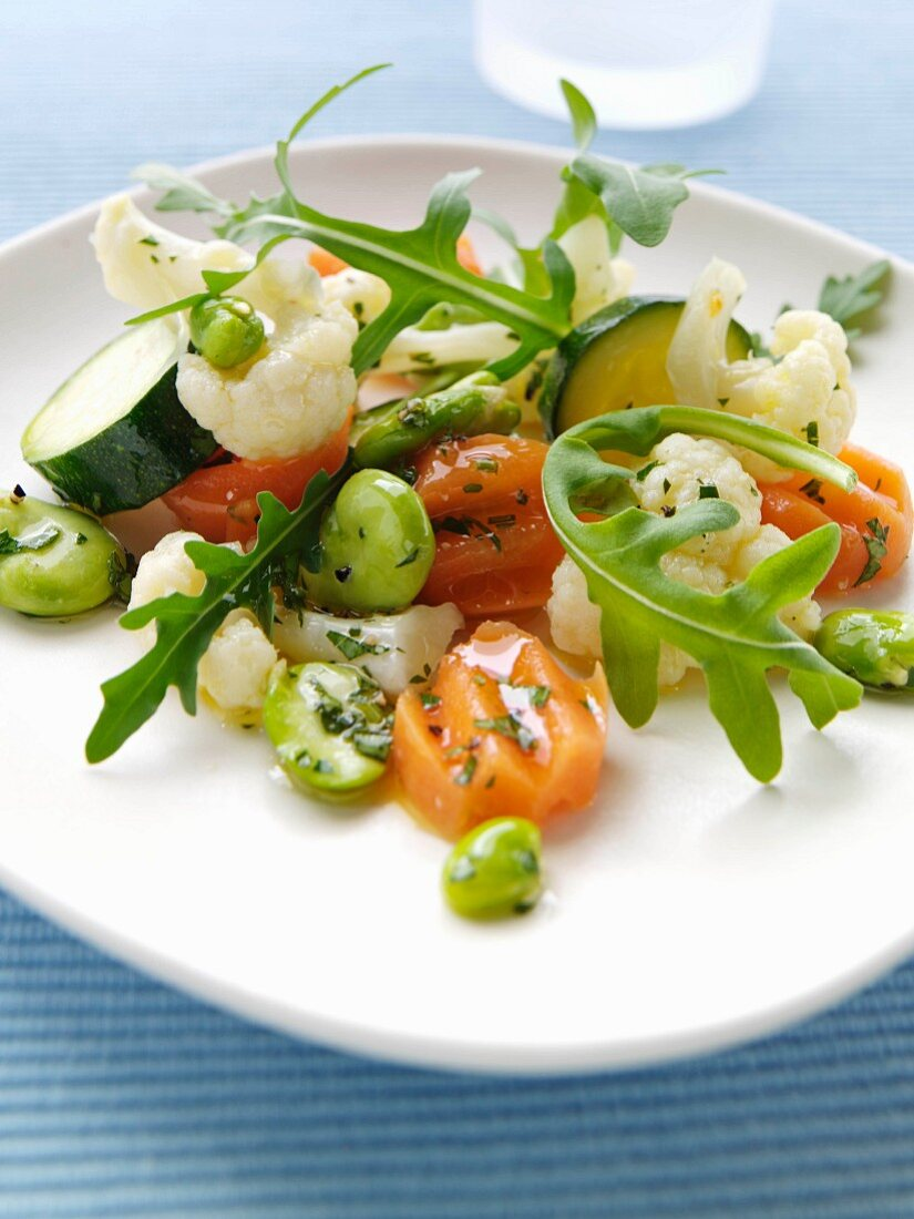 Five a day vegetable salad