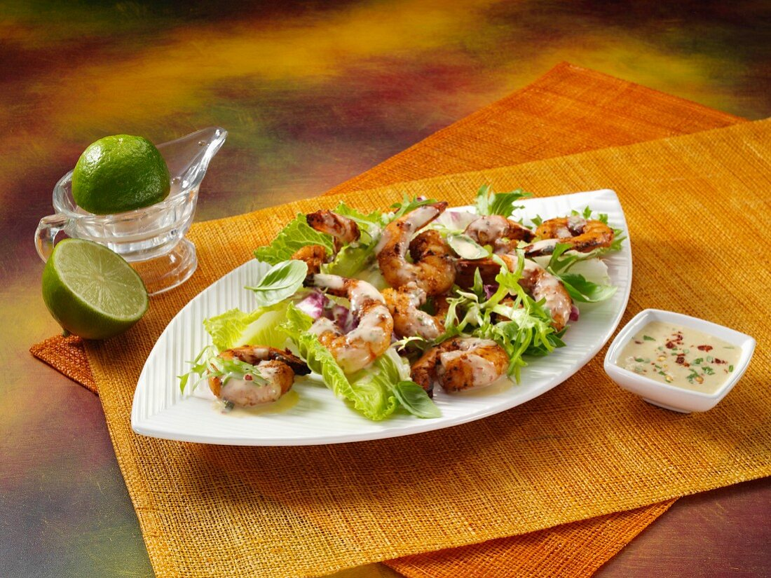 Lime coconut dressing