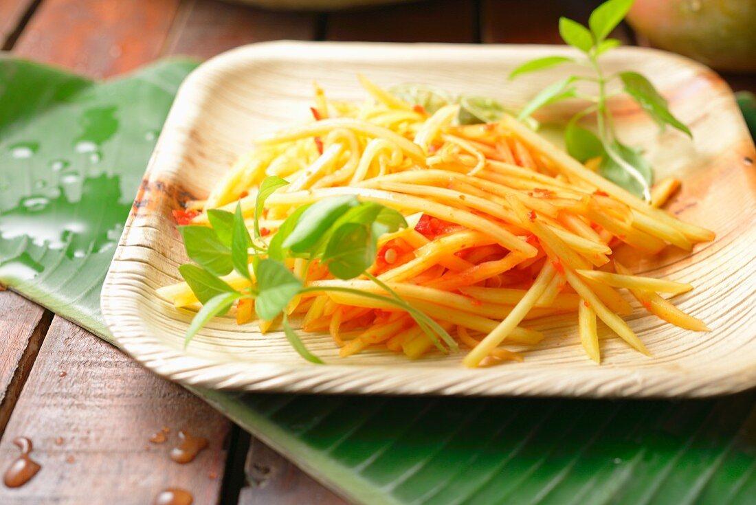 Sambal Mangga (Indonesian mango and chilli relish)