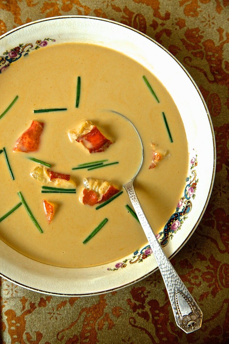 Lobster bisque (New England, USA)