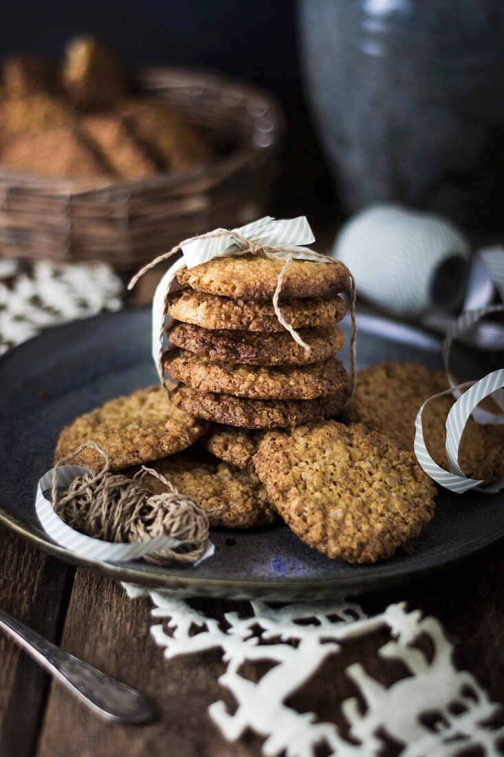 Oatmeal cookies for Advent