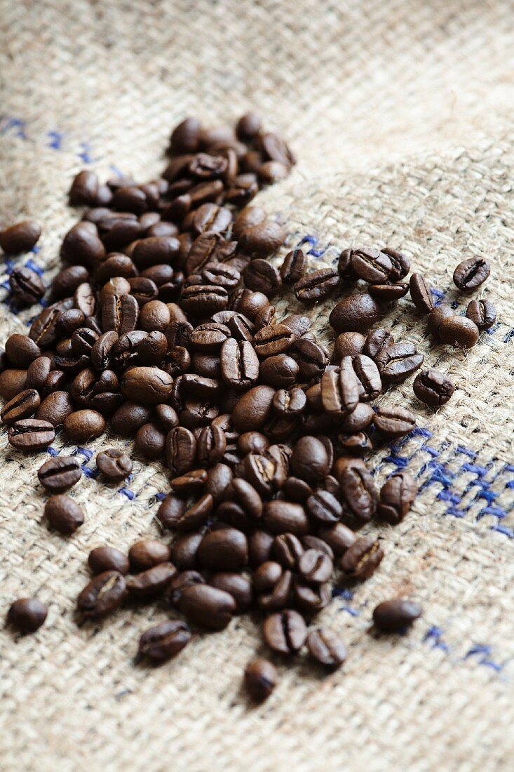 Whole Roasted Coffee Beans