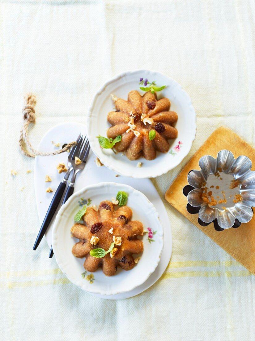 Vegan halvas (semolina pudding)