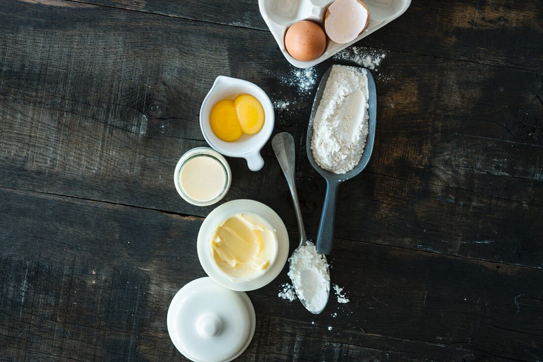 Ingredients to perfectly thicken sauces