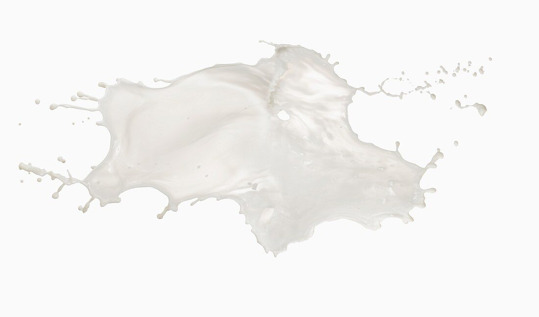 A splash of milk